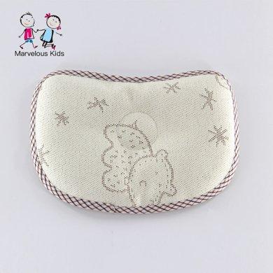 爆款直降 Marvelous kids油柑叶宝宝定型枕头 婴儿定型枕 新生儿夏季枕头