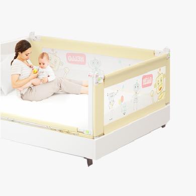贝得力 单片婴儿床护栏垂直升降 儿童防掉床边宝宝防摔大床上围栏小孩安全床挡床沿板