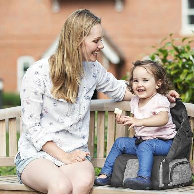 英国apramo安途美宝宝餐椅包多功能婴幼儿童吃饭增高座椅子便携式可折叠抖音爆款 MULTII