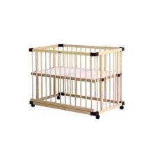 【 爆款限时抢购&送床中床】【实木多档调节 一床多用】farska 全实木环保多功能婴儿床