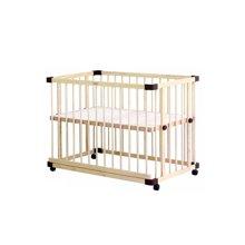 【 送床中床】farska 全实木环保多功能婴儿床 豪华款
