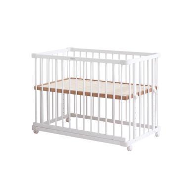 Farska 白色歐式全實木環保多功能嬰兒床 BSYEC  包郵