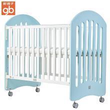 好孩子(gb)嬰兒床童床多功能松木寶寶床三檔可調節BB床MC720