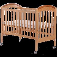 好孩子(gb)嬰兒床寶寶櫸木多功能三擋可調節水漆環保童床MC855