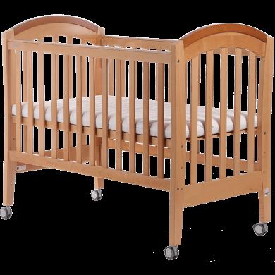 好孩子(gb)婴儿床宝宝榉木多功能三挡可调节水漆环保童床MC855