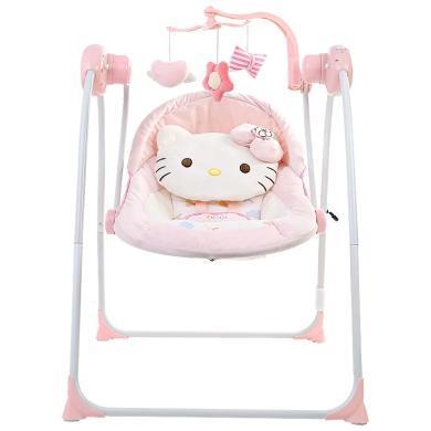 奧特王 凱蒂貓系列嬰幼兒搖搖凳電動搖椅