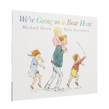 【点读版】吴敏兰、廖彩杏书单 Were Going On a Bear Hunt 一起去猎熊【平装】
