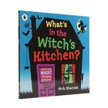 【点读版】吴敏兰书单 Whats In the Witchs Kitchen 女巫的厨房有什么?【平装】