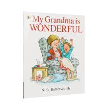 【点读版】吴敏兰书单 My Grandma is Wonderful 我的奶奶真棒【平装】