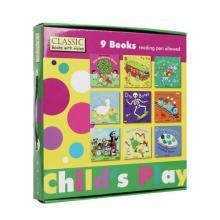 Childs Play 韵文歌谣洞洞书 第一辑9册点读版【平装】廖彩杏书单 不带点读笔