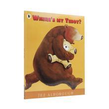 【点读版】廖彩杏书单 Wheres My Teddy?  我的泰迪熊在哪?【平装】