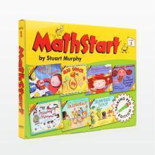 美國進口 Math Start 數學啟蒙點讀版 Level 1 Set 3 第三輯 (7冊)【平裝】【不帶點讀筆】