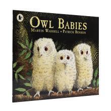 【点读版】廖彩杏书单 Owl Babies 猫头鹰宝宝【平装】