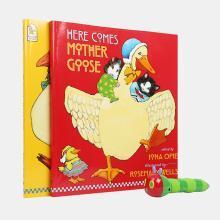 【不带笔套装】廖彩杏书单 英国进口 经典版鹅妈妈童谣合集 My Very First Mother Goose Pack 点读版【超大开本平装】