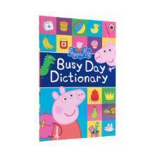【点读版】小猪佩奇主题词典 入门必备Peppa s Very Busy Day Dictionary with Talking Pen