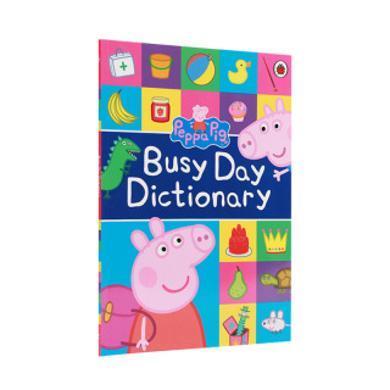 【點讀版】小豬佩奇主題詞典 入門必備Peppa s Very Busy Day Dictionary with Talking Pen