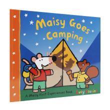 【点读版】廖彩杏力荐 英国进口 独立小孩就要这样做 小鼠波波去露营 Maisy Goes Camping【平装】