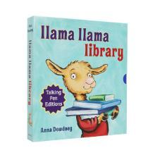 【点读版】Llama Llama talking pen editions 羊驼拉玛8册盒装