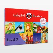 6岁+英语提基础夯实 快乐瓢虫第三阶 Ladybird Readers Level 3 【盒装】9册书+9册练习册 【不带点读笔套装】
