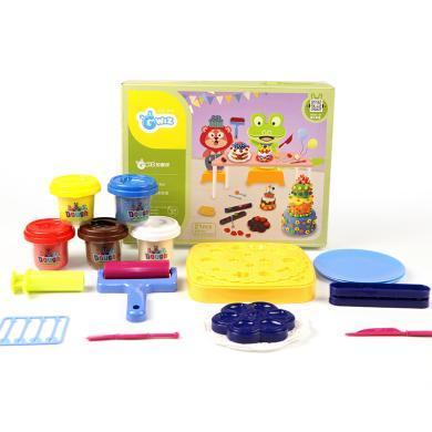 GFUN   兒童彩泥模具套裝手工制作玩具兒童手工彩泥大包裝橡皮泥