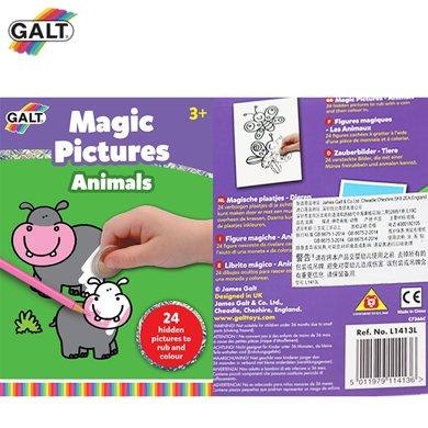 英國GALT/文具-神奇畫板-動物