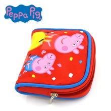 小豬佩奇粉紅豬小妹佩佩豬女孩可愛卡通兒童方形零錢包10cm