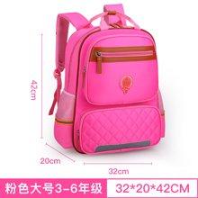 芃拉新款儿童书包韩版小学生书包1-3-4-6年级男女生双肩包背包62932BLBL