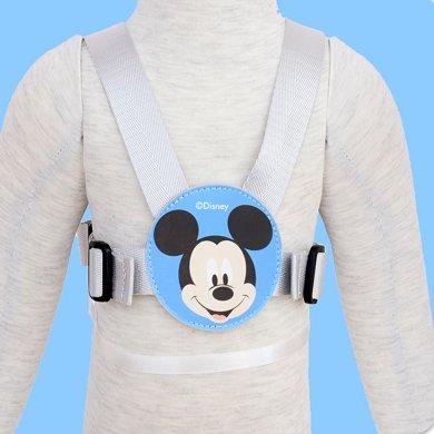 美國Disney迪士尼1號防走失背帶兒童防走失帶牽引繩手環防丟繩夏季寶寶走丟肩帶防丟失背包