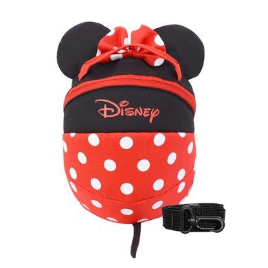 美國Disney迪士尼B01防走失包防走失帶牽引繩溜娃神器防丟繩兒童防丟失包寶寶防走丟背包
