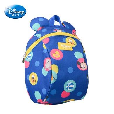 美國Disney迪士尼1號防走失包防走失帶牽引繩溜娃神器防丟繩兒童防丟失包寶寶防走丟背包