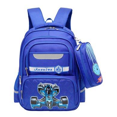 芃拉新款 小學生書包男孩2-3-5-4年級護脊減負兒童書包7-12周歲KZ5841BLSS