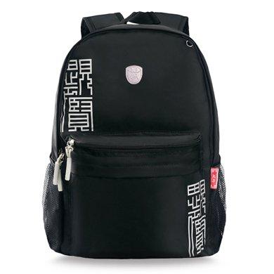 孔子書包小學生書包 中學生書包 兒童書包男女可選 雙肩滌綸背包A304升級版
