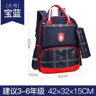 小学生书包儿童背包1-3-6年级学生书包韩版书包耐磨轻巧双肩背包BL636
