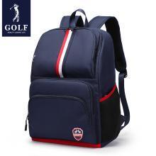 高尔夫GOLF大容量书包轻便时尚中小学生背包英伦双肩包多隔层可装15英寸笔记本 D933942