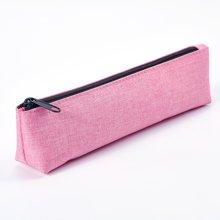 上品汇国色小笔袋迷你三角笔袋简约纯色精致小笔袋尼龙防水面料