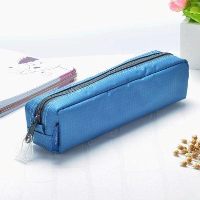 上品匯迷你方形筆袋尼龍純色簡約小巧筆袋學生男女鉛筆袋
