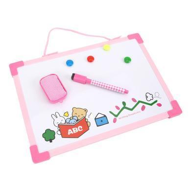晨光兒童小白板寫字板可擦白板筆可愛涂鴉繪圖畫畫黑板幼兒園學生ADB98302