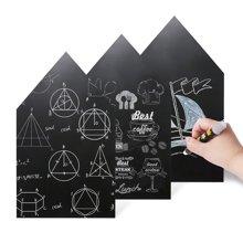 美乐 儿童黑板墙贴纸自粘墙贴家用黑板墙装饰可擦写加厚黑板贴