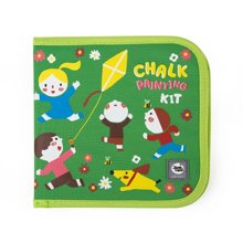 美乐 儿童粉笔画包黑板小画本涂鸦写字本套装便携小画板可擦绘本