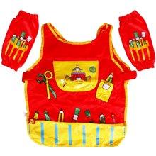 美乐joanmiro 儿童防水绘画衣/画画衣/学画工具 1.3米以下小画衣