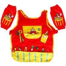 美乐Joanmiro 儿童绘画工具画衣防水画衣套装