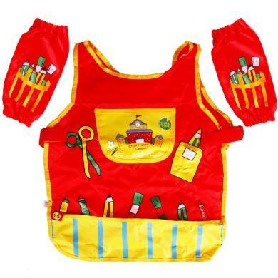 美樂Joanmiro 兒童繪畫工具畫衣防水畫衣套裝