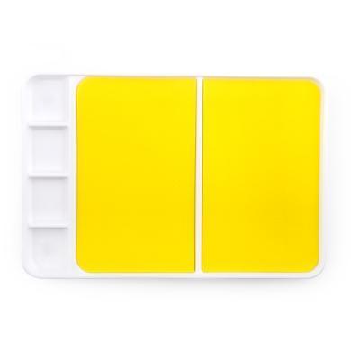 美乐 joanmiro儿童调色盘水粉水彩调色板 多功能塑料调色盘颜料盘