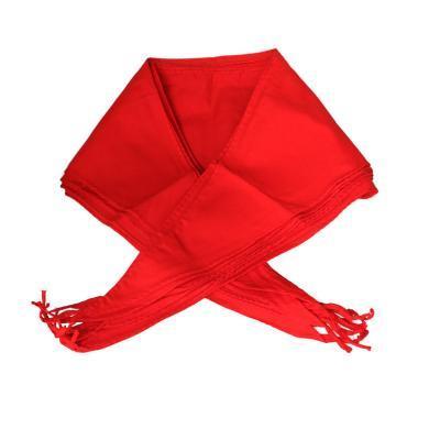紅領巾小學生適用1米2大號棉布加厚加寬紅領巾少先隊員
