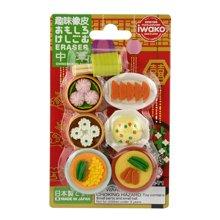IWAKO岩泽趣味橡皮日本原装进口玩具益智橡皮可爱动物套装
