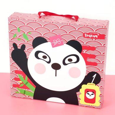 上品汇熊猫文具套装儿童圣诞礼物新年礼盒小学生文具礼包