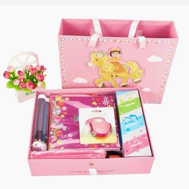 上品匯兒童六一文具套裝開學男女學生禮品獎品購文具禮盒
