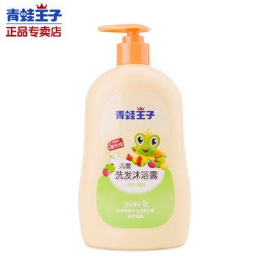 青蛙王子兒童洗發沐浴二合一(草本精華)480ml 寶寶洗發沐浴二合一 編號1573
