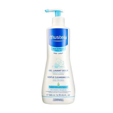 【支持购物卡】法国Mustela妙思乐 婴幼儿洗发沐浴二合一500ml
