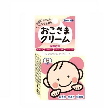 【支持购物卡】日本To plan婴儿面霜儿童润肤霜宝宝护肤霜保湿霜 30g